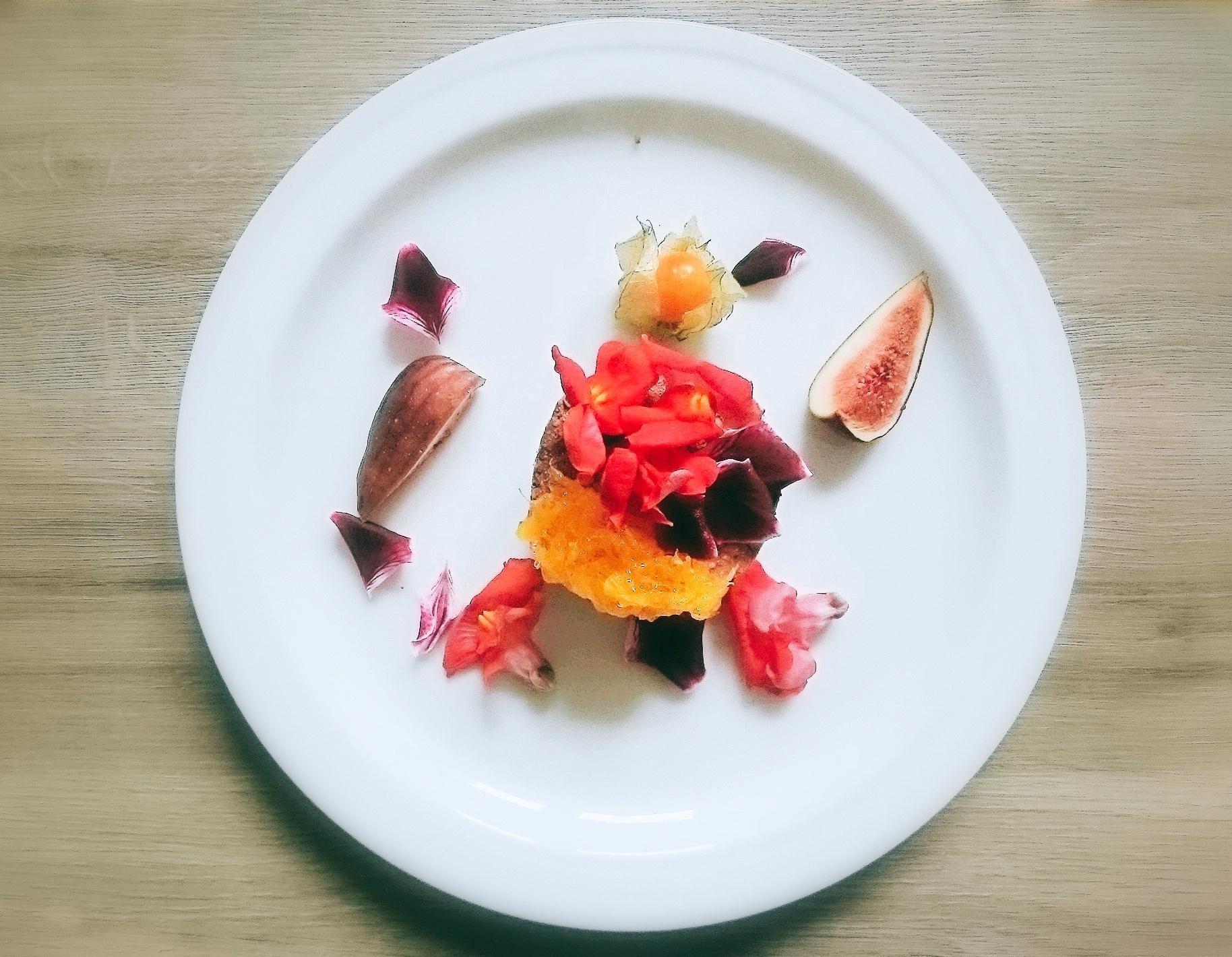 2017 03 09 14 31 16 - Podwójnie czekoladowe mrożone serniczki z jadalnymi kwiatami i frużeliną pomarańczową