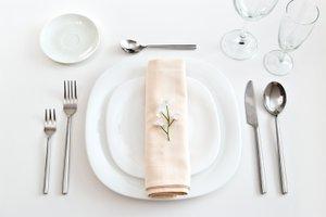 Miejsce ustawienia - Wokół stołu – nakrycie podstawowe
