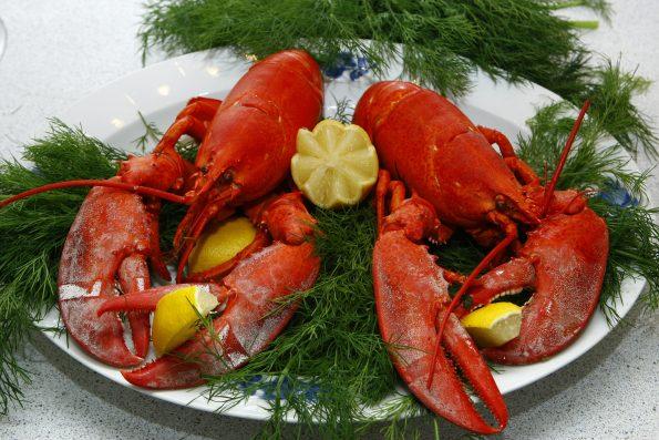 lobster 1608440 595x397 - Wokół stołu - jak to ugryźć - raki, owoce morza, kawior
