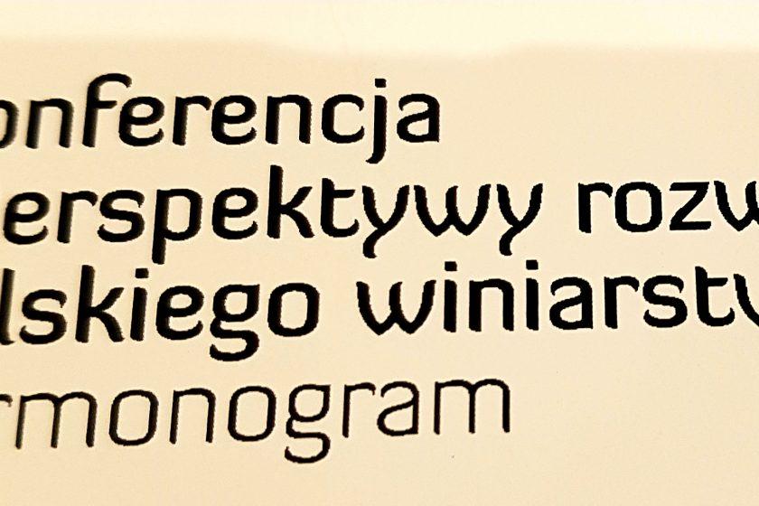 """20181206 165643 840x560 - Konferencja """"Perspektywy rozwoju polskiego winiarstwa"""""""