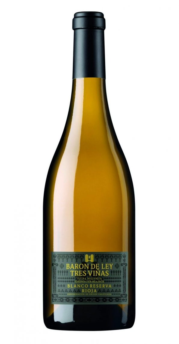 baron de ley 3 vinas blanco reserva 1 e1554981176993 595x1144 - [Notka] Baron de Ley, 3- Vinas Blanco Reseva, 2015