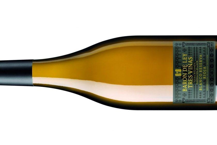 baron de ley 3 vinas blanco reserva e1554981064415 840x560 - Baron de Ley, 3- Vinas Blanco Reseva, 2015