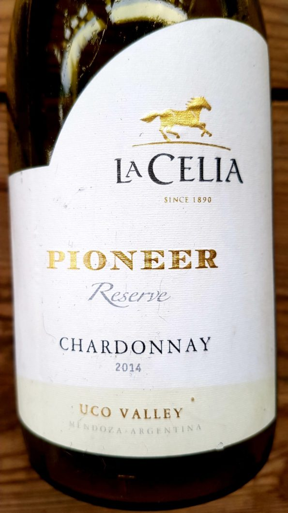 20190801 173958 595x1058 - La Celia, Pioneer Reserve, Chardonnay, 2014. Uco Valley, Argentyna.