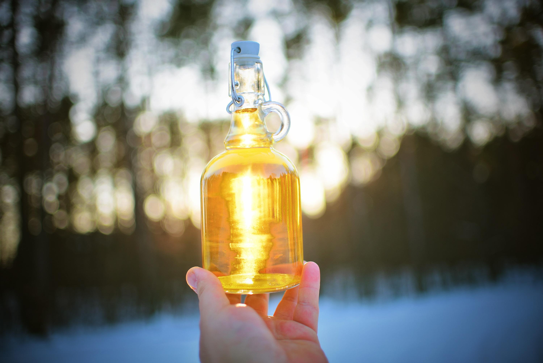 bottle 3405616 - Nalewka na miodzie i białym winie