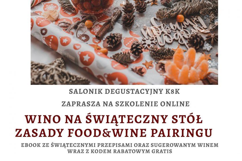 IMG 20201115 200817 268 840x560 - Wino na świąteczny stół - zasady Food&Wine pairingu