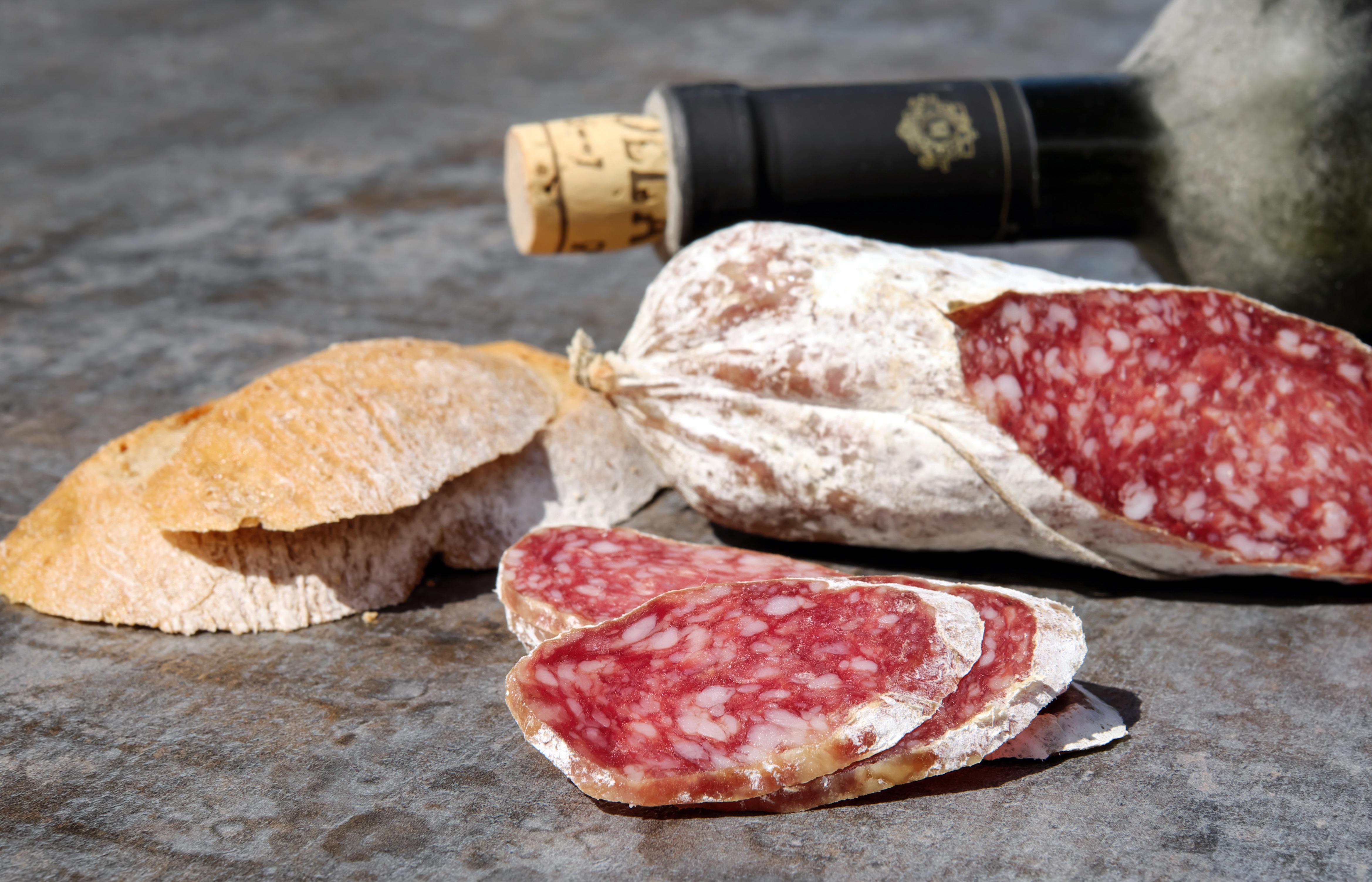 salami 2645403 - [Wino i kuchnia] Wino i wędliny